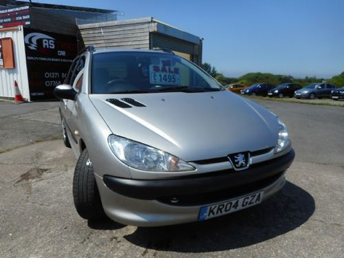 Used Peugeot 206 1.4 LITRE SW S on Finance in Exeter £50 per month ...