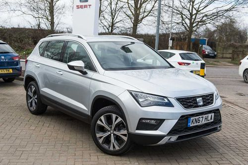 used seat ateca on finance from 50 per month no deposit. Black Bedroom Furniture Sets. Home Design Ideas