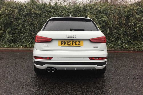 used audi q3 tfsi quattro s line plus 5dr suv on finance in london