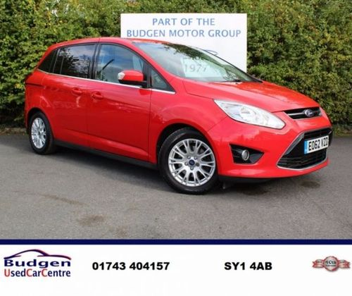 Used Ford Grand C Max 2 0 Tdci Titanium 5dr 7 Seats On