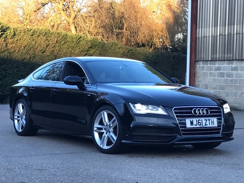 Used Audi A7 Tdi S Line Sportback On Finance In Wokingham