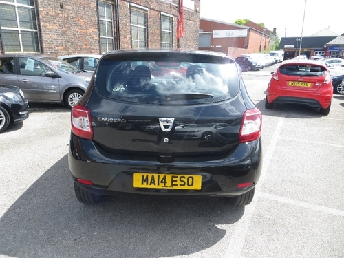 Used dacia sandero 16v ambiance on finance in royton 103 for Subaru motors finance c o chase
