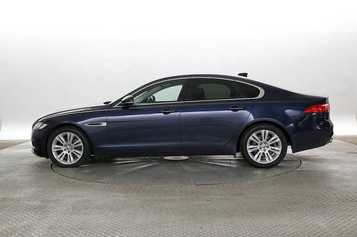 Marvelous Jaguar XF Blue Great Pictures