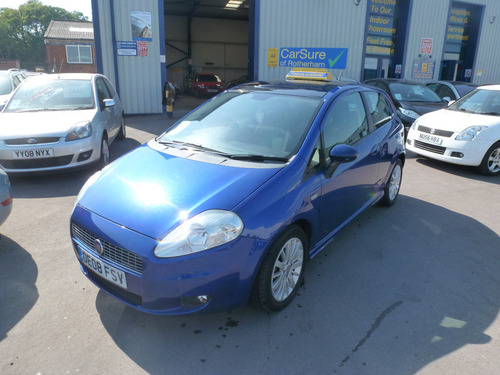 used fiat grande punto in south yorkshire on finance from. Black Bedroom Furniture Sets. Home Design Ideas