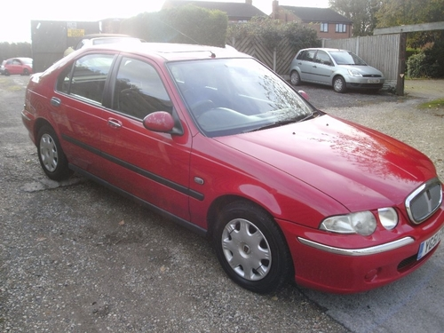 Used Rover 45 16v Ie On Finance In Selby 50 Per Month No Deposit