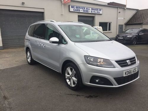 Seat Alhambra boot