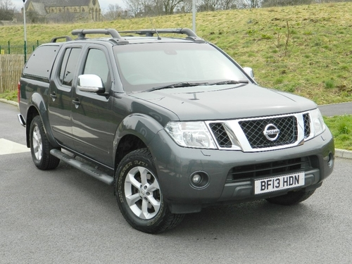 Used nissan navara in west yorkshire on finance from 50 for Nissan motor finance company