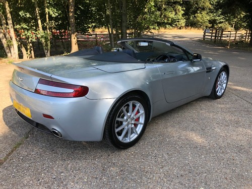 Used Aston Martin Vantage V8 Roadster On Finance In St Albans