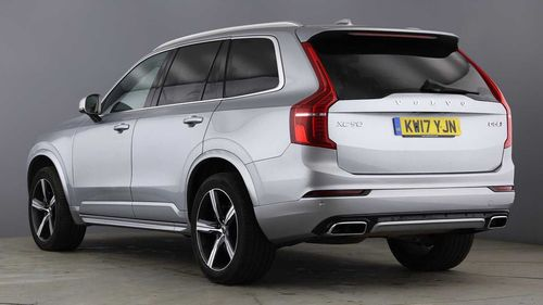 used volvo xc90 d5 powerpulse awd r design nav auto on. Black Bedroom Furniture Sets. Home Design Ideas
