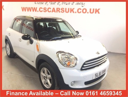 Used Mini Countryman 16l Cooper D Chili Pack All4 5dr On