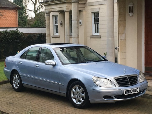 used mercedes benz s class in derbyshire on finance from. Black Bedroom Furniture Sets. Home Design Ideas