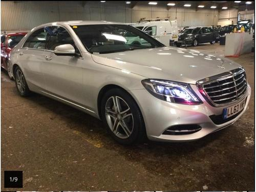 Used mercedes benz s class in derbyshire on finance from for Mercedes benz prestige service