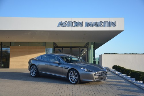 Used Aston Martin RAPIDE V Dr Touchtronic Auto On Finance In - Used aston martin rapide