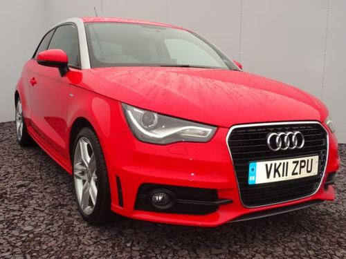 Used Audi A1 1 6 Tdi S Line 3dr Xenon Plus Headlights Low Roa On