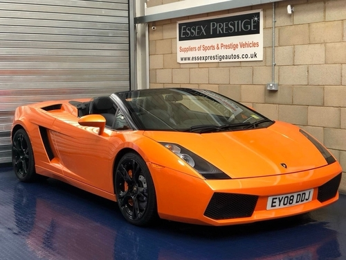 Used Lamborghini Gallardo 5 0 V10 Spyder 2dr On Finance In Harlow