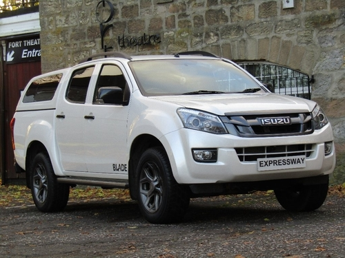 used isuzu d max pickup on finance in glasgow per month no deposit. Black Bedroom Furniture Sets. Home Design Ideas
