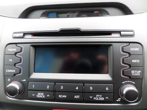 Kia Sportage stereo