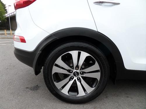 Kia Sportage wheel