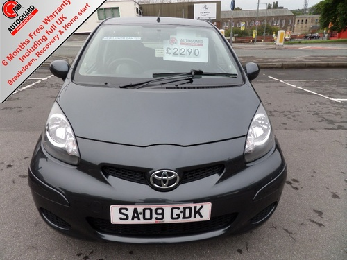 Used Toyota Aygo 10 Vvt I Plus 5dr On Finance In Burnley 5283 Per