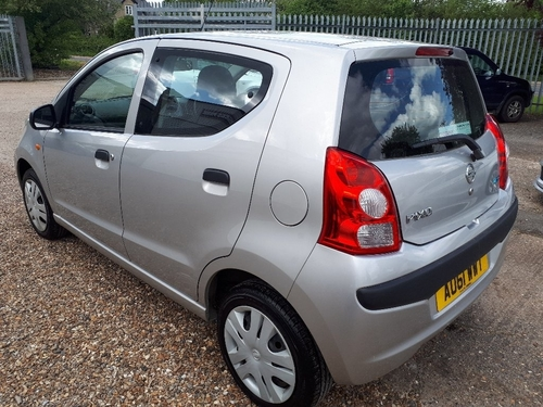 Used Nissan Pixo Visia On Finance In Bury St Edmunds 163 69