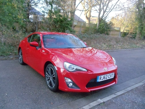 Used Toyota Gt86 D 4s Gt86 On Finance In Kingston Upon