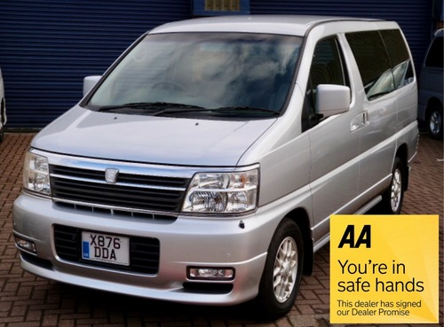 Used nissan elgrand on finance from 50 per month no deposit for Nissan motor finance company