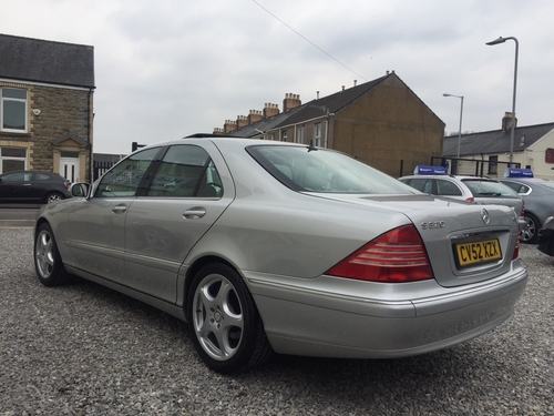 used mercedes benz s class s320 cdi on finance in swansea per month no deposit. Black Bedroom Furniture Sets. Home Design Ideas