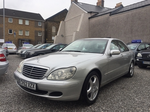 Used mercedes benz s class s320 cdi on finance in swansea for Mercedes benz swansea