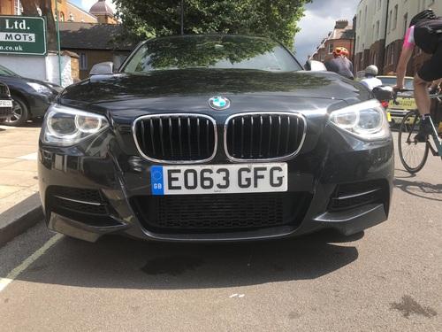 BMW M1 front