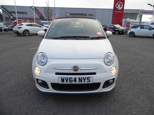 used fiat 500 2014 fiat 500 c s 1 2 bluetooth connection auxil on finance in per month. Black Bedroom Furniture Sets. Home Design Ideas