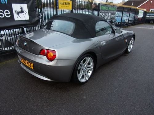 used bmw z4 2 5 i roadster 2dr on finance in halesowen per month no deposit. Black Bedroom Furniture Sets. Home Design Ideas