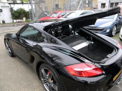 Porsche Cayman doors