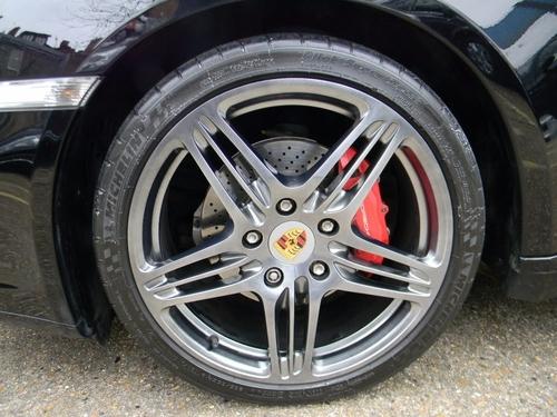 Porsche Cayman back