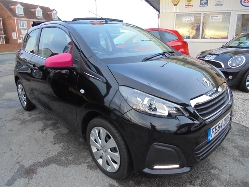 used peugeot 108 in east riding of yorkshire on finance from 50 per month no deposit. Black Bedroom Furniture Sets. Home Design Ideas