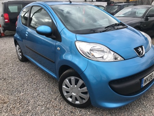 Used Peugeot 107 on Finance from £50 per month no deposit