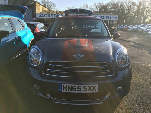 Used Mini Countryman 16 Cooper D Park Lane Ss On Finance In