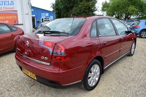 Used Citroen C5 Exclusive Hdi On Finance In Sleaford 163 50