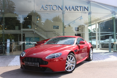 Used Aston Martin VANTAGE V Vantage Coupe On Finance In Cambridge - Used aston martin vantage