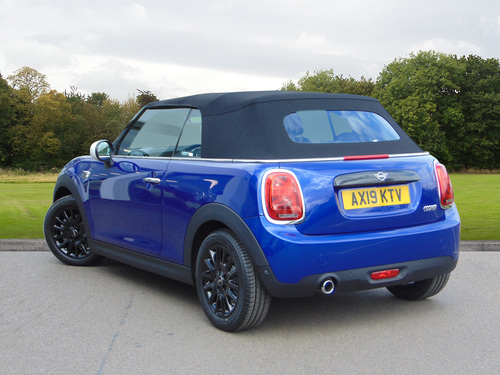 used mini convertible cooper classic on finance in bury st. Black Bedroom Furniture Sets. Home Design Ideas