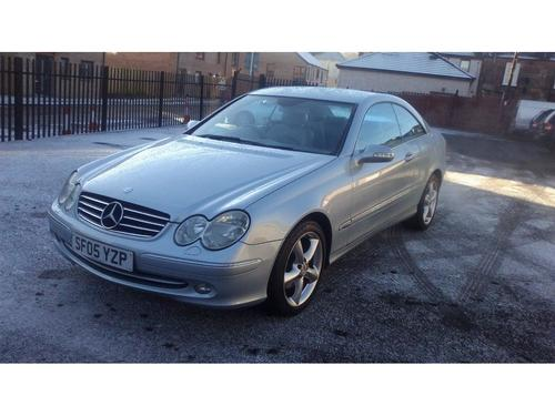 Used mercedes benz clk clk240 avantgarde on finance in for Mercedes benz alexandria used cars