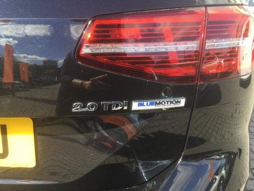 Volkswagen Passat back