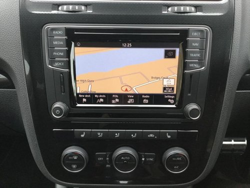 Volkswagen Scirocco stereo