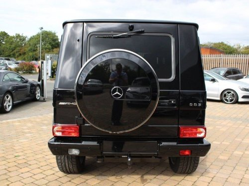 Used mercedes benz g class g63 571 5dr tip auto on for Mercedes benz lookers