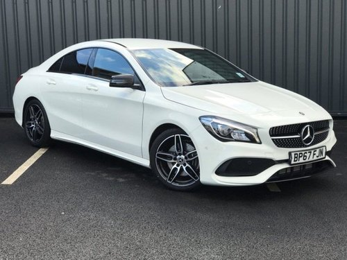 Used mercedes benz cla class cla 220d amg line 4dr tip for Mercedes benz lookers