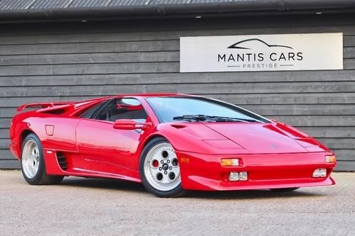 Lamborghini Diablo Motor
