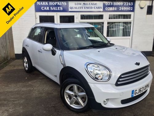 Used Mini Countryman 20 Cooper D All4 On Finance In Eastleigh