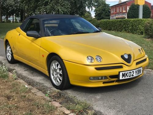 Used Alfa Romeo SPIDER TSPARK LUSSO V On Finance In Manchester - Used alfa romeo spider