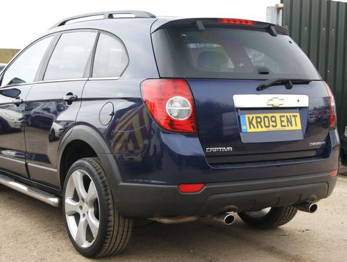 Used Chevrolet Captiva 24 Ls 5d Petrol On Finance In Hook 11533
