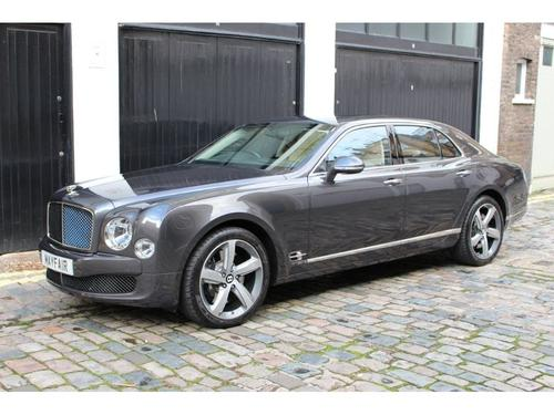 Bentley Mulsanne back