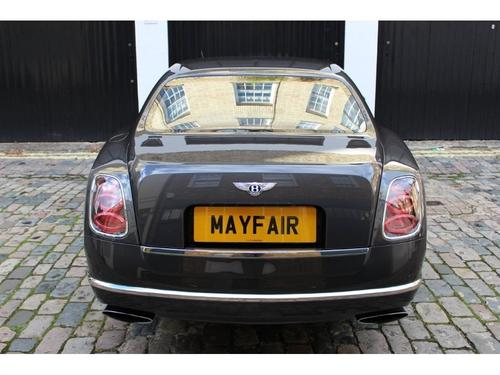 Bentley Mulsanne seat